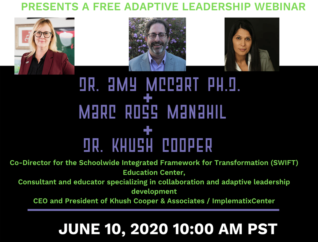 WEBINAR: Navigating Change: Adaptive Leadership
